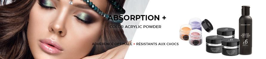 Résine Acrylique résistante aux chocs, ne jaunit pas, ne cristalise pas ABSORPTION by BEAUTYNAILS